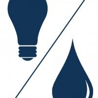 icone eletrico e hidraulico